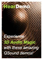 QSound Labs 3D Audio Technology Demos